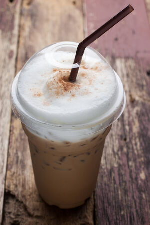 chocolate bars: iced blended frappucino