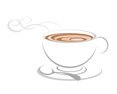 coffee cup vector: Coffee cup icon, vector