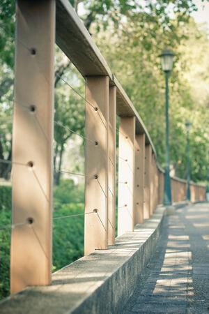 slings: Palisade in the park