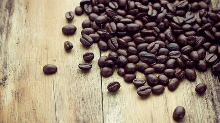 best coffee: Coffee on grunge wooden table
