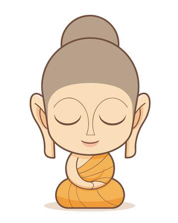 Buddha-Cartoon