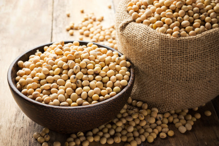 Soy beans in a Bowl