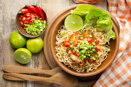 gluten free: Instant noodles