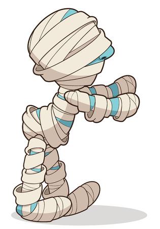 egyptian mummy: mummies cartoon
