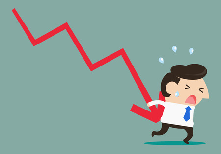 preoccupation: Businessman lose money