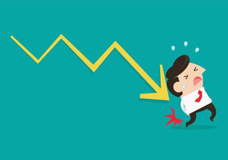 penniless: Businessman lose money