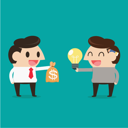 discourse: Trading between idea and money Illustration
