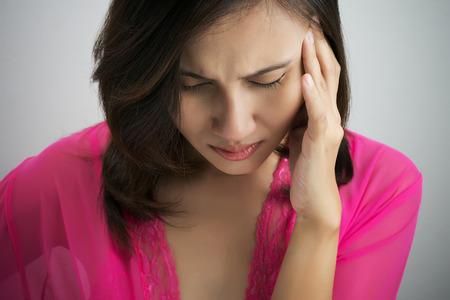 dismal: Have a headache