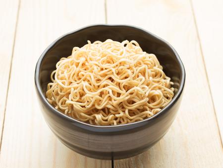 Oriental Style Instant Noodles photo