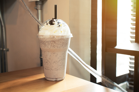 frappe: Cookie and cream frappe recipe
