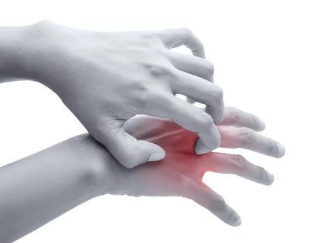 pokrzywka: Zarysuj swędzenie ręką, Ramię, swędzenie, Koncepcja z opieką zdrowotną i medycyną. Zdjęcie Seryjne