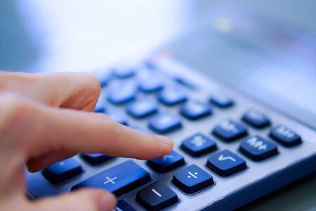 numpad: Financial office have calculator