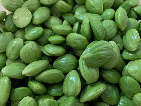 Bitter bean, Twisted cluster bean, Thai herb food