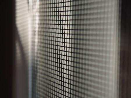 Cage or mesh prison for captivity Stok Fotoğraf