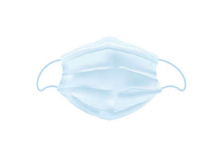 medical face mask vectors for filter dust and antivirus, Covid19 isolated on white background