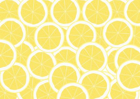 lemon herb slide pattern for medical treatment vector , fresh wallpaper