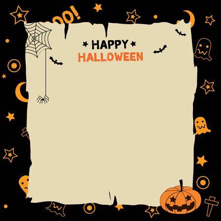 Niedlich Glückliche Halloween Vorlage Galerie ...