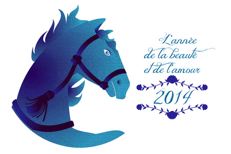 French horse 2014 photo