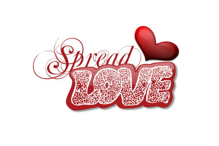 Spread Love on Valentine s Day Stock Photo