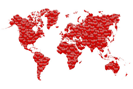 Love Map of the World photo