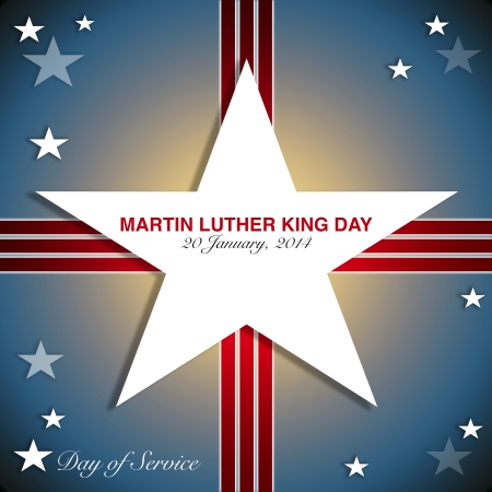 MLK, Patriotic background, Dr  Martin Luther King, Jr   Day of Service photo