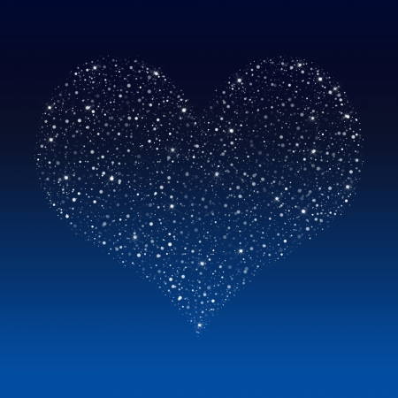 scintillating: This Valentine Season, your Love sparkles and shines on me Stock Photo
