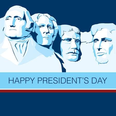 national day: Happy Presidents Day