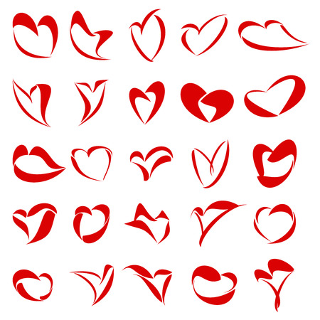 25 icon for Heart or Love related themes