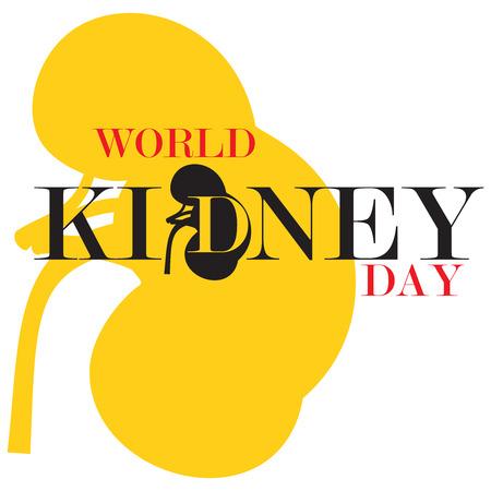 世界腎臓デー 写真素材