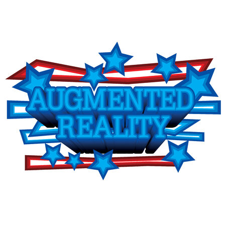 digitally enhanced or generated: Augmented Reality Stock Photo