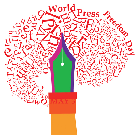World Press Freedom Day 版權商用圖片