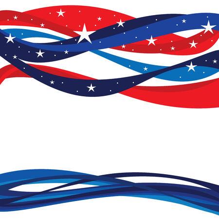 United States Patriotic Background