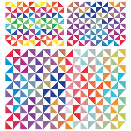 proximity: Abstract Triangles Stock Photo