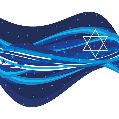 抽象的なイスラエルのヘッダー
