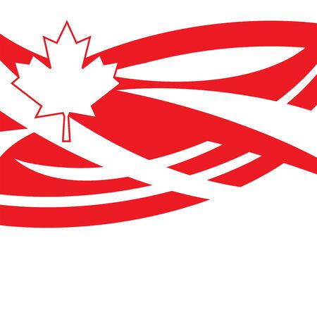 days: Happy Canada Day Stock Photo