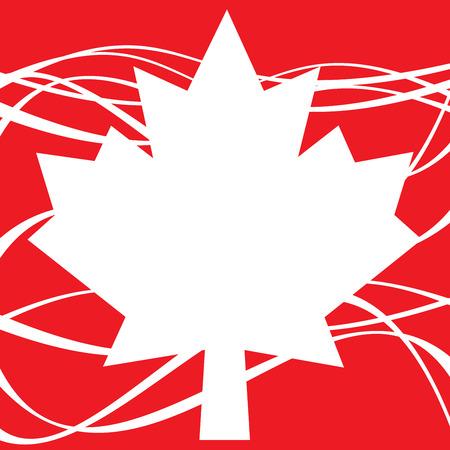 Fijne Canada-dag Stockfoto
