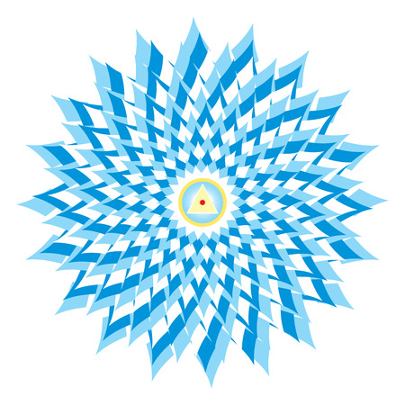 Sahasrara - thousand-petaled or Crown Chakra is the 7th Primary Chakra photo