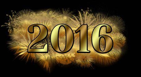 scintillating: Scintillating New Year Stock Photo