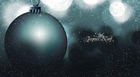 joyeux: Joyeux Noel is French, for Merry Christmas.