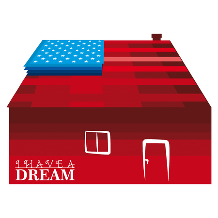 to have: I have a dream Stock Photo