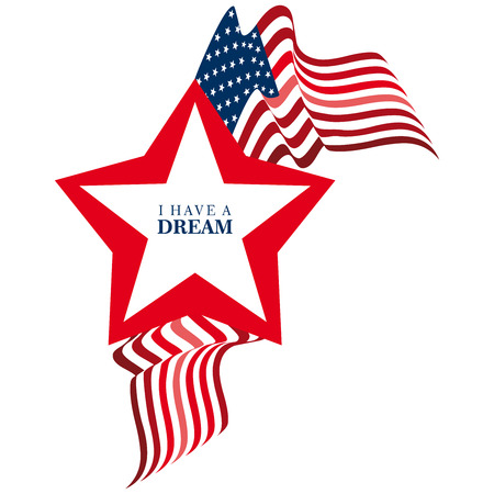 have on: I have a dream Stock Photo