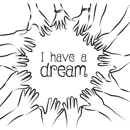 dream: I have a dream Stock Photo