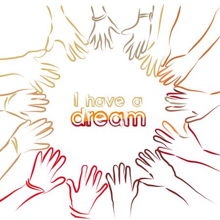Ik heb een droom Stockfoto - 51219950