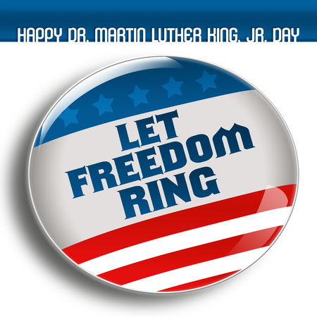 black button: LET FREEDOM RING