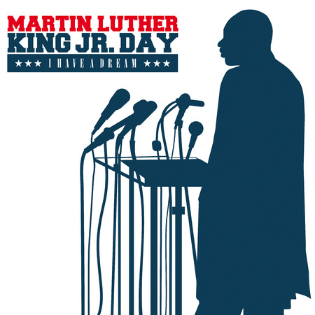워싱턴 DC, 미국 - 8 월 28 일 : 목사 마틴 루터 킹 주니어 워싱턴 DC, 미국 8 월 (28), 1963 권한을 부여하고, 미국의 민권 운동을 변경 한 유명한 연설을했다.