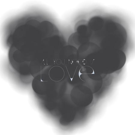 deprived: LOVELESS HEART Stock Photo