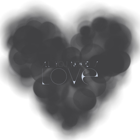 loveless: LOVELESS HEART Stock Photo