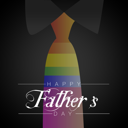 observance: Happy Fathers Day Stock Photo