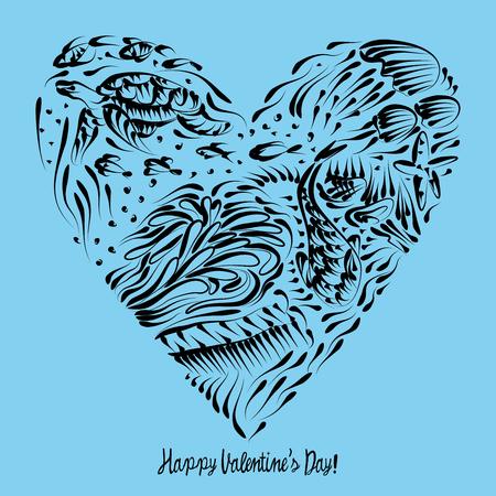 turtles love: Happy Valentines Day
