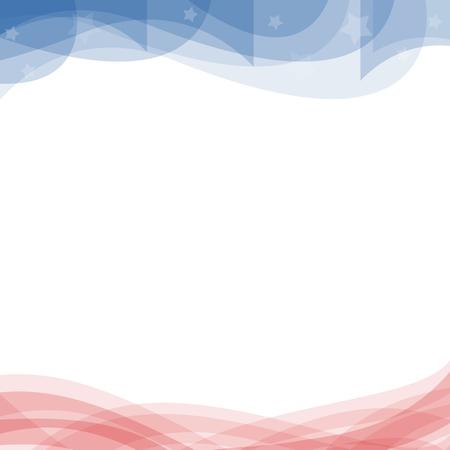 Verenigde Staten Pattic achtergrond Stockfoto